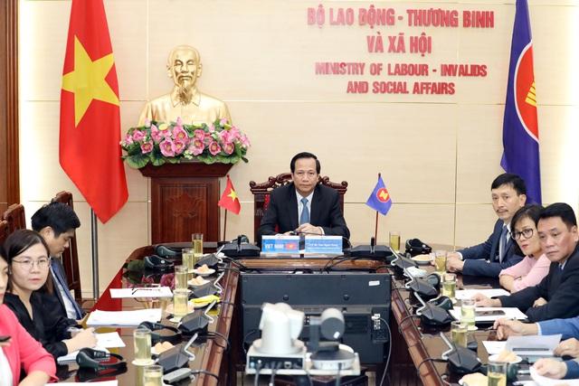 """Bộ trưởng Đào Ngọc Dung: """"Thế giới việc làm đang thay đổi vì Covid-19"""" - 2"""