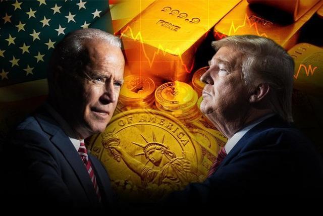 Giá vàng có thể biến động dữ dội nếu ông John Biden lên làm Tổng thống Mỹ! - 1