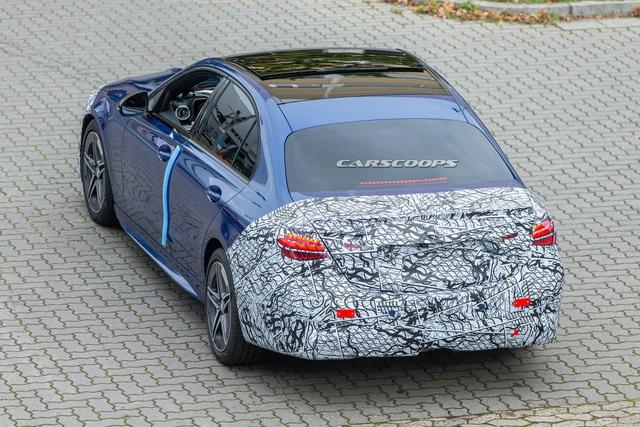 Mercedes C-Class thế hệ mới lộ diện trên đường thử - 6