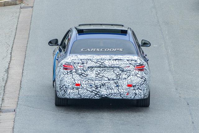 Mercedes C-Class thế hệ mới lộ diện trên đường thử - 7