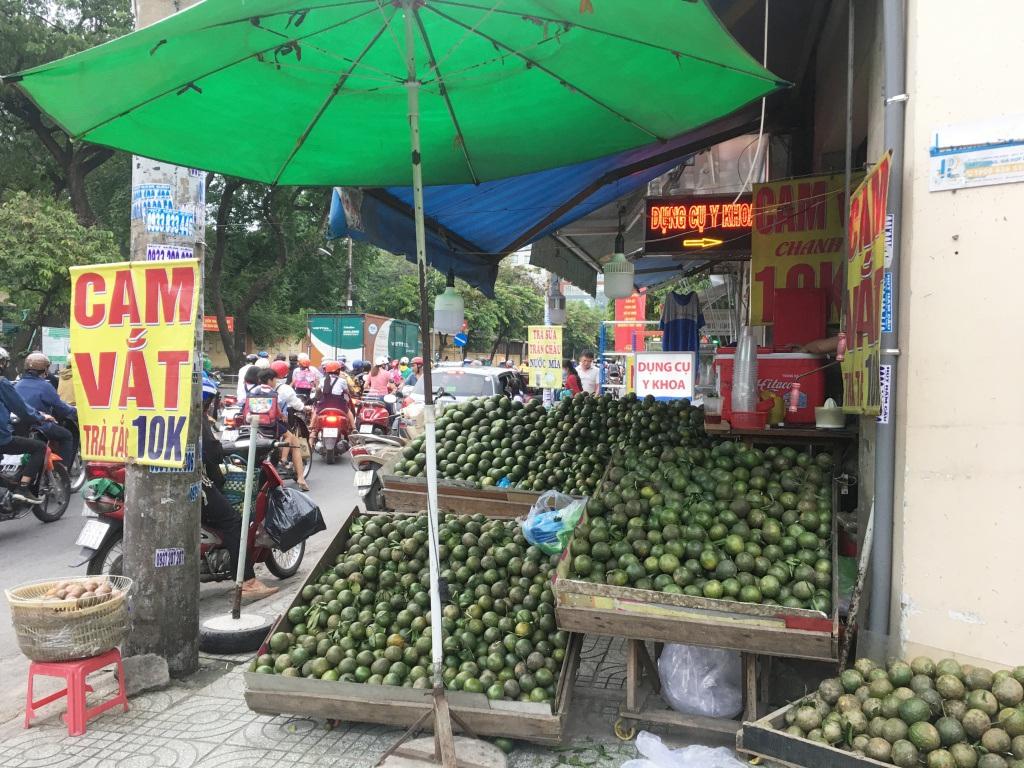 Trái cây đang có giá rẻ không tưởng, chất đầy các hè đường TPHCM