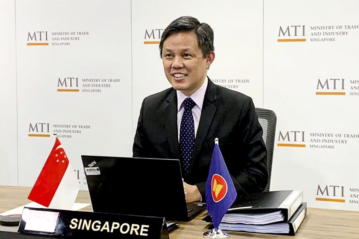 Singapore's Trade and Industry Minister Chan Chun Sing. Photo: Facebook