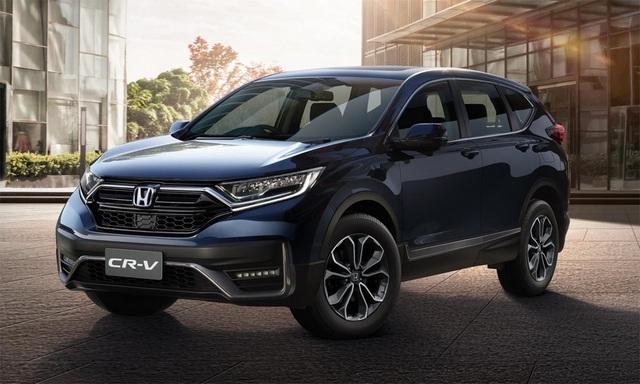 Xe gia đình 7 chỗ nên mua Honda CR-V hay Hyundai SantaFe? - 1