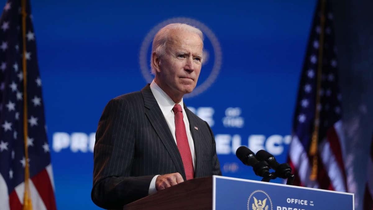 Ông Biden tuyên bố