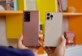 Galaxy Note20 Ultra thua đứt iPhone 12 Pro Max khi đọ độ bền, thả rơi tự do