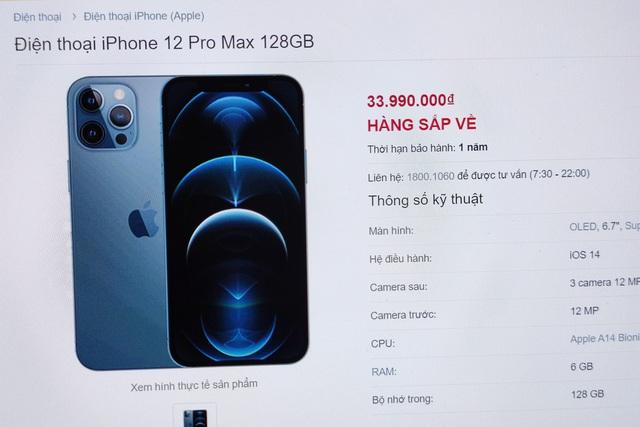 iPhone 12 Pro Max cháy hàng ở Việt Nam, bị dân buôn thổi giá cao - 1