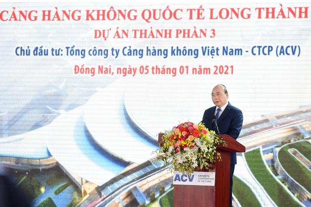 Thủ tướng phát lệnh khởi công Dự án Cảng Hàng không quốc tế Long Thành - 1
