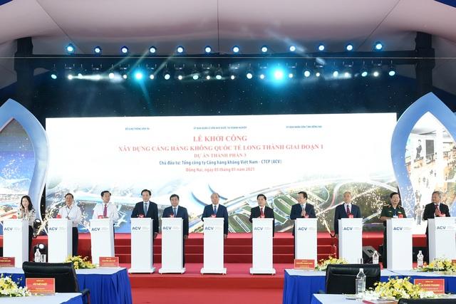 Thủ tướng phát lệnh khởi công Dự án Cảng Hàng không quốc tế Long Thành - 4