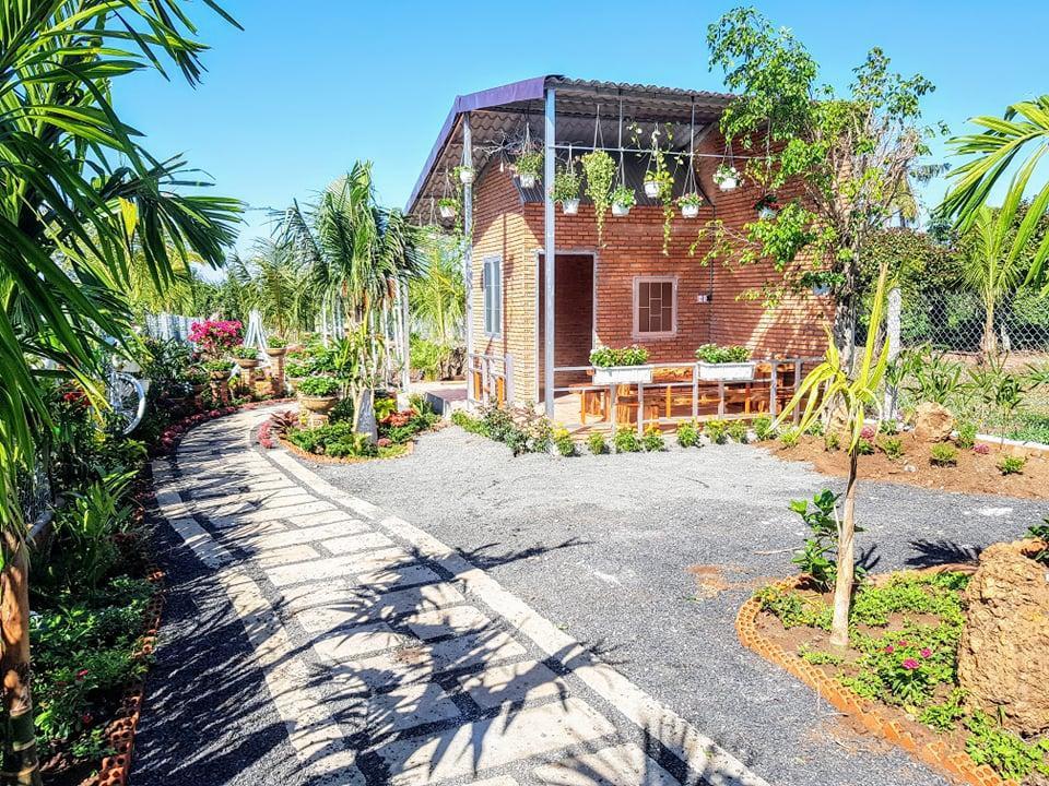 Ông bố trẻ ở Đắk Lắk làm nhà vườn