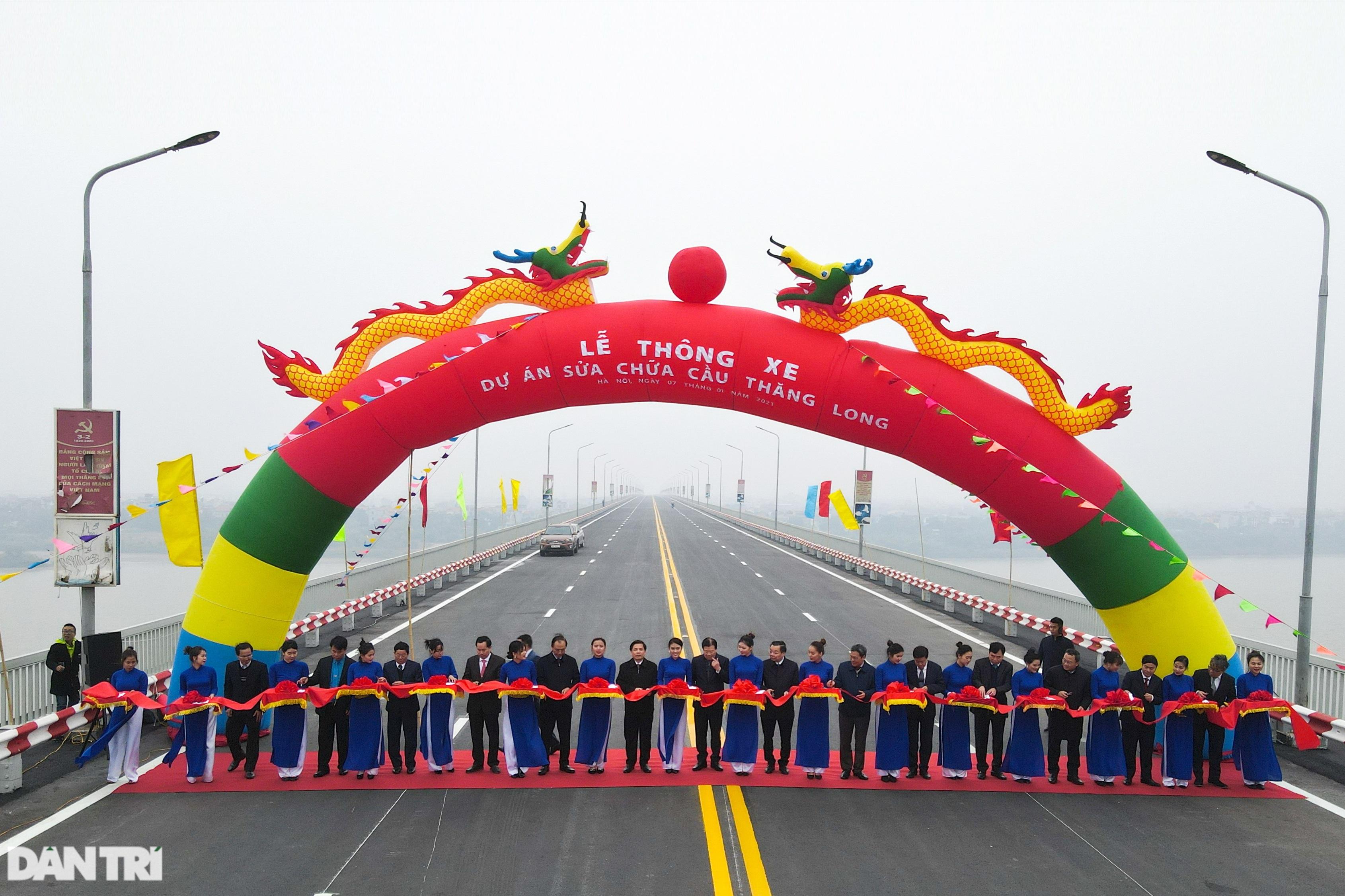 Thông xe cầu Thăng Long, kết nối xuyên suốt đường trên cao đẹp nhất Hà Nội