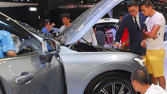 Doanh số thị trường ô tô Việt