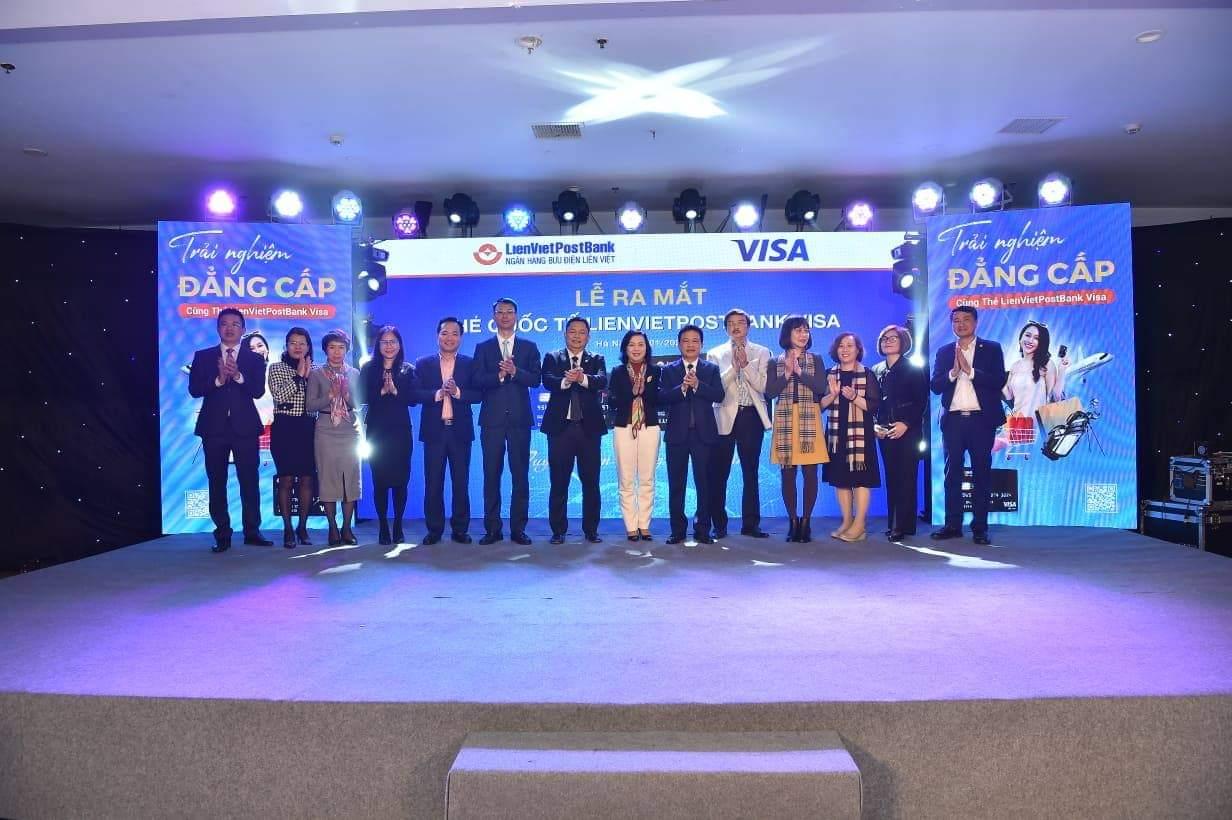 LienVietPostBank ra mắt thẻ quốc tế LienVietPostBank Visa