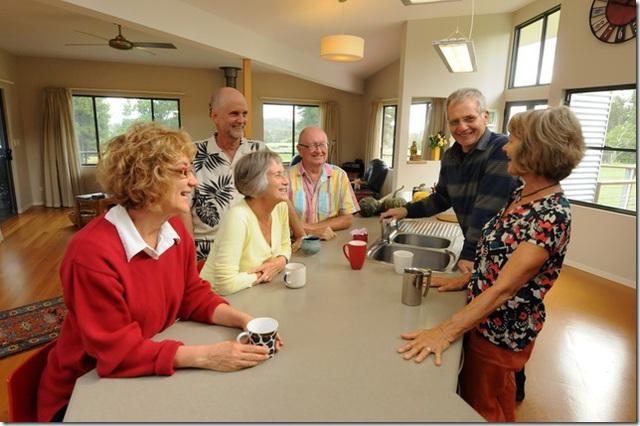 6 người bạn về quê xây nhà sống chung, an hưởng tuổi già - 3
