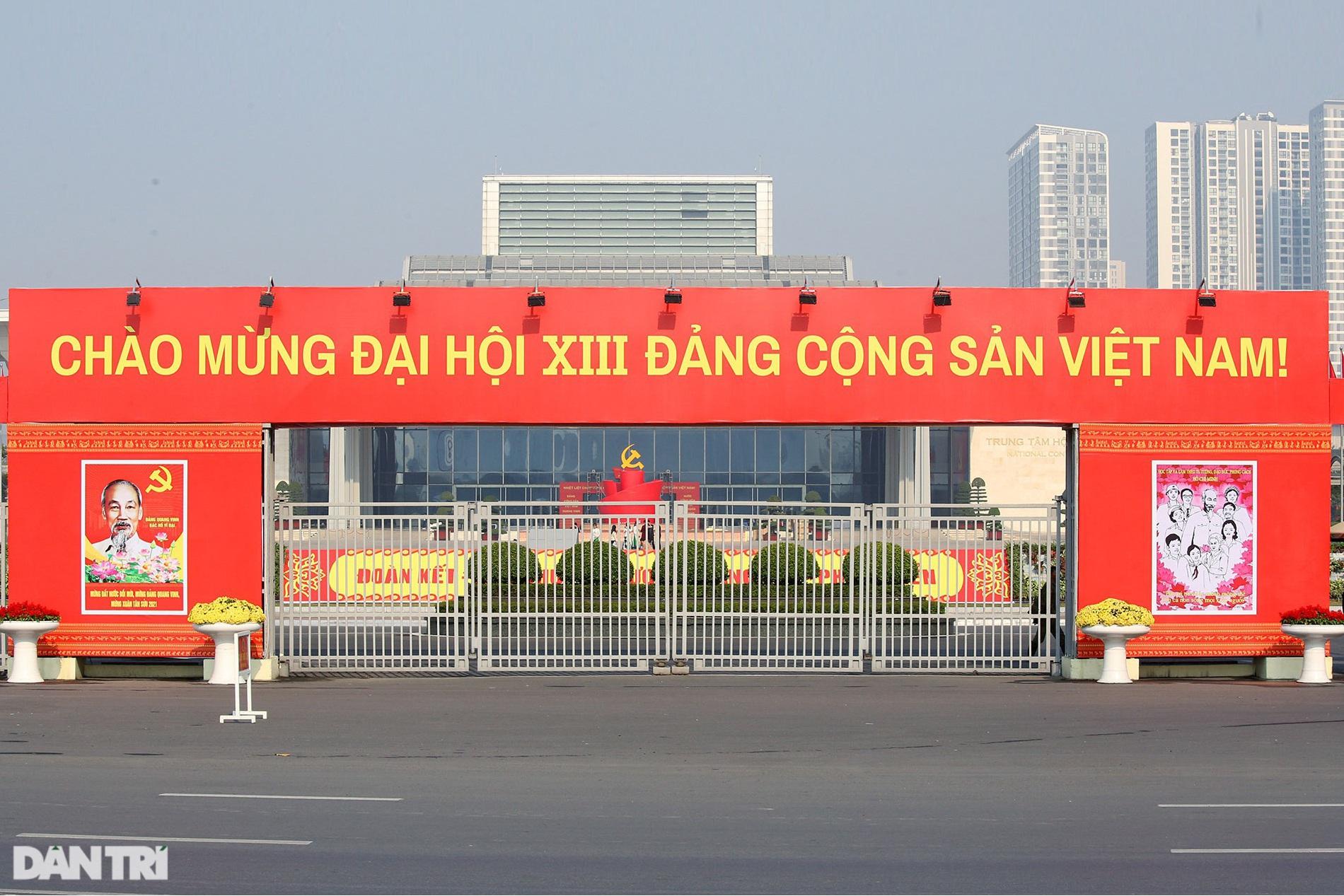 Sáng nay, Đại hội 13 của Đảng họp phiên trù bị