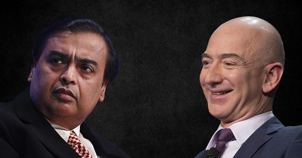 Amazon ra tòa để chặn đứng thương vụ bán lẻ trị giá 3,3 tỷ USD của người đàn ông giàu nhất Ấn Độ