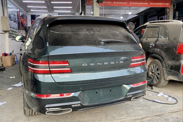 Genesis GV80 lăn bánh tại Hà Nội: Thêm SUV hạng sang cho khách Việt chọn - 5