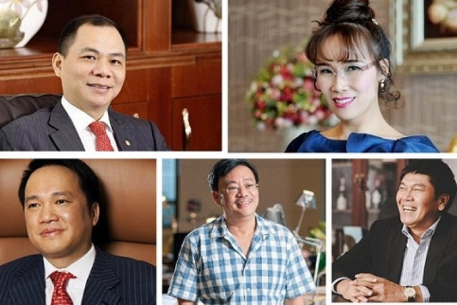 Các tỷ phú giàu nhất Việt Nam cùng trúng đậm trước Tết - 1