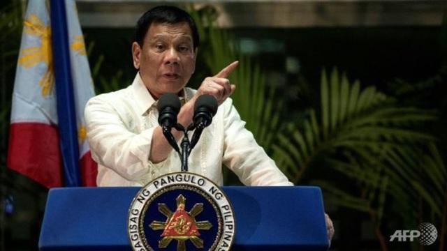 Tổng thống Duterte ra