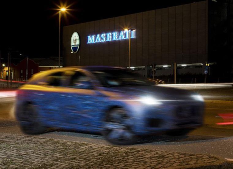 Những hình ảnh đầu tiên của xe nguyên mẫu Grecale - SUV mới của Maserati