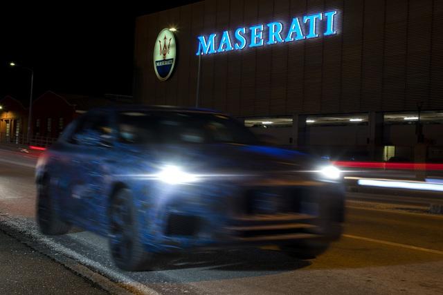 Những hình ảnh đầu tiên của xe nguyên mẫu Grecale - SUV mới của Maserati - 8