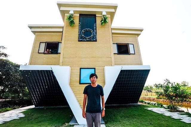 Lạ lùng những căn nhà lộn ngược ở Việt Nam, độc nhất là nội thất bên trong - 1