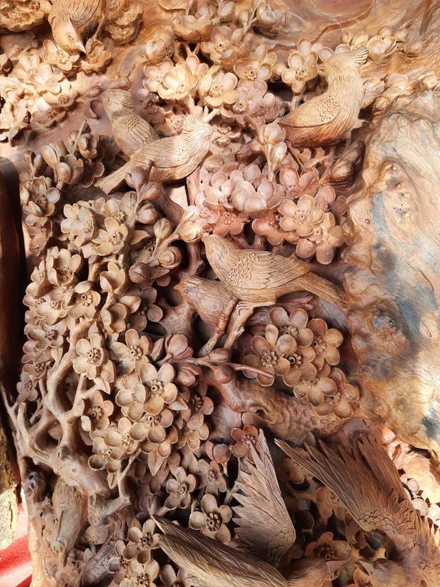 Choáng ngợp với bình hồ lô bằng gỗ, nặng 6 tấn độc nhất Việt Nam - 2