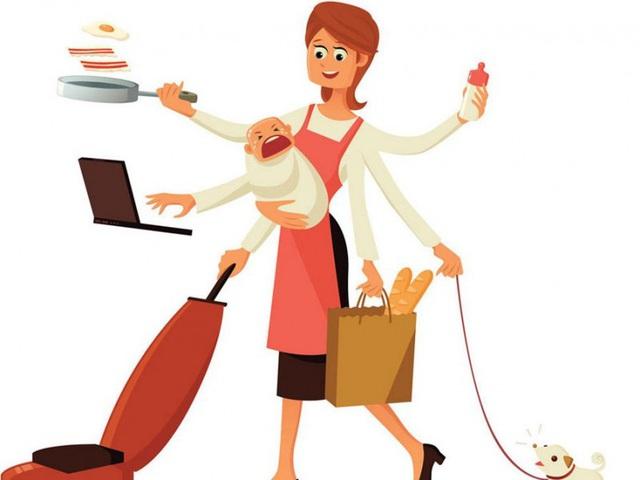 Thời gian làm việc nhà không lương đáng giá bao nhiêu?