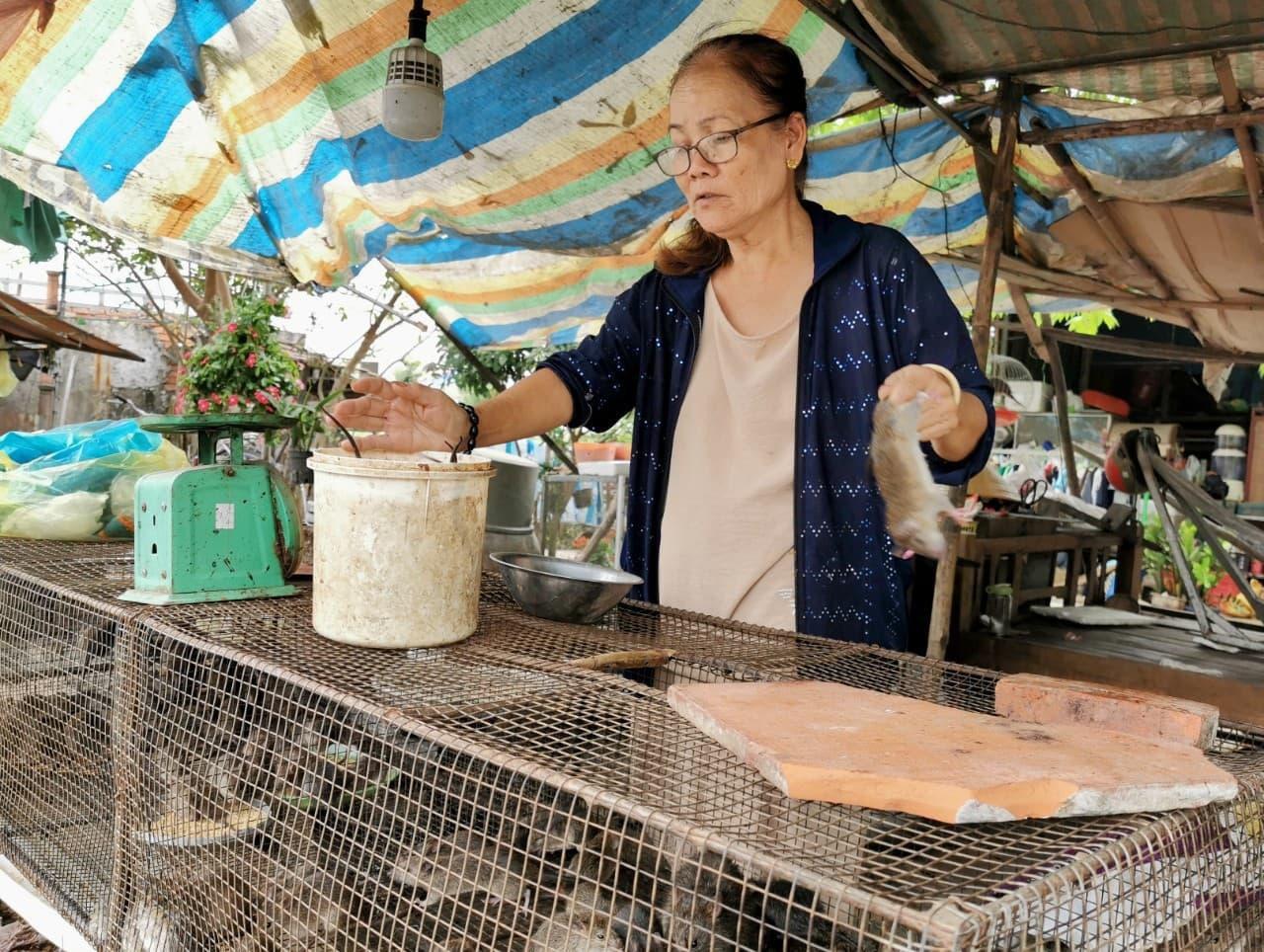Giá chuột đồng trên cả thịt heo, có thời điểm 120.000 đồng/kg