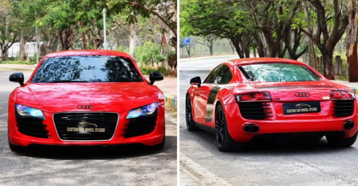 Siêu xe Audi R8 hơn 10 năm tuổi được rao bán rẻ hơn Toyota Fortuner