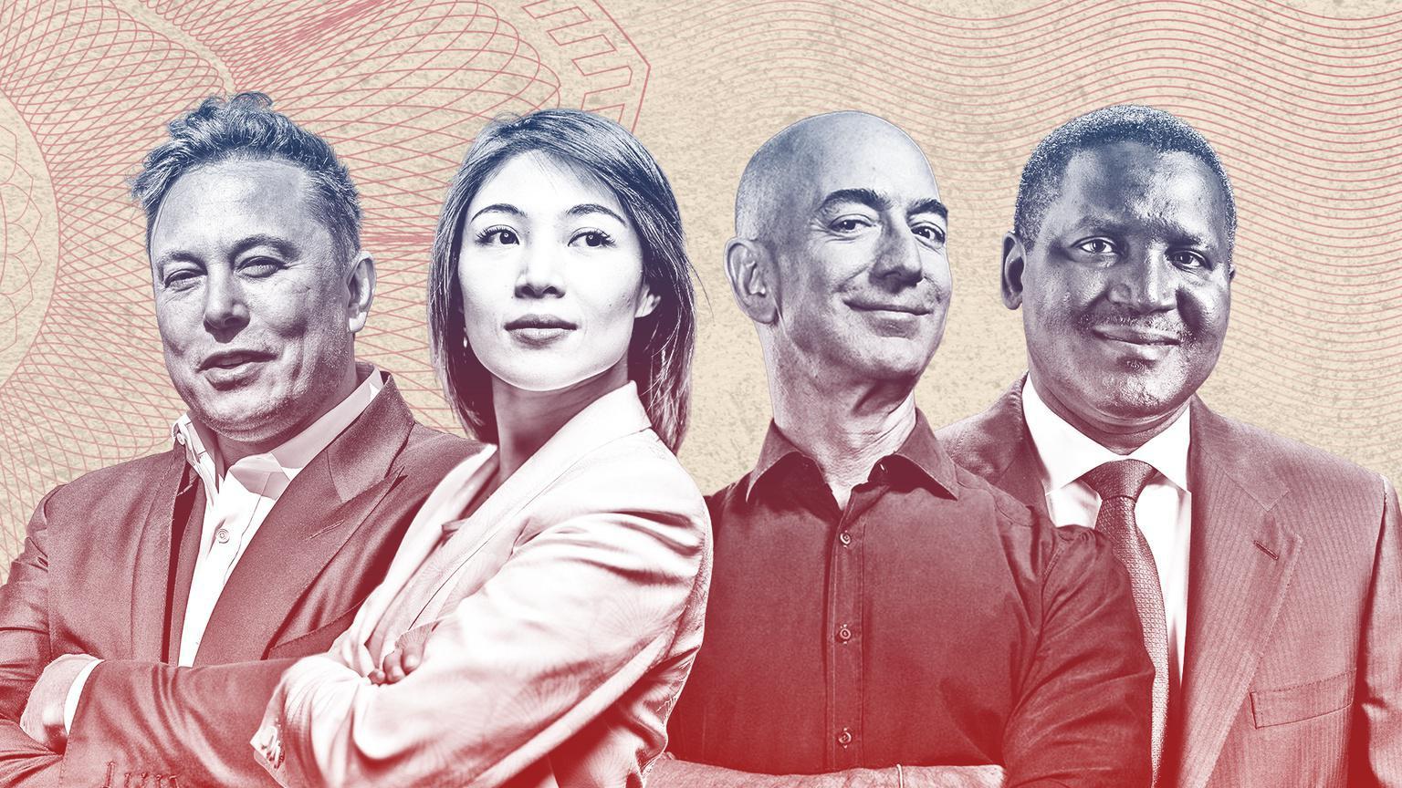 Bảng xếp hạng Forbes 2021: Cứ 17 giờ thế giới lại có