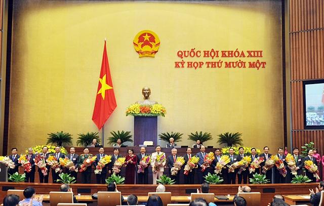 Hôm nay bầu xong lãnh đạo các cơ quan Quốc hội, trình nhân sự Chính phủ - 2
