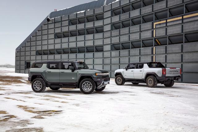 Hummer EV SUV mỗi lần sạc điện chạy được gần 500km - 12