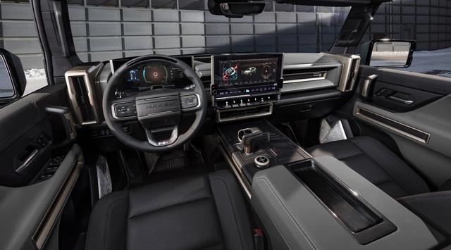 Hummer EV SUV mỗi lần sạc điện chạy được gần 500km - 15