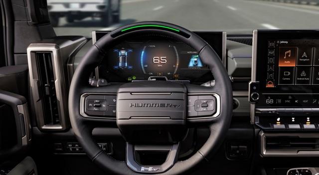 Hummer EV SUV mỗi lần sạc điện chạy được gần 500km - 20