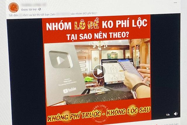 Facebook nói gì về tình trạng quảng cáo lô đề tràn lan? - 2