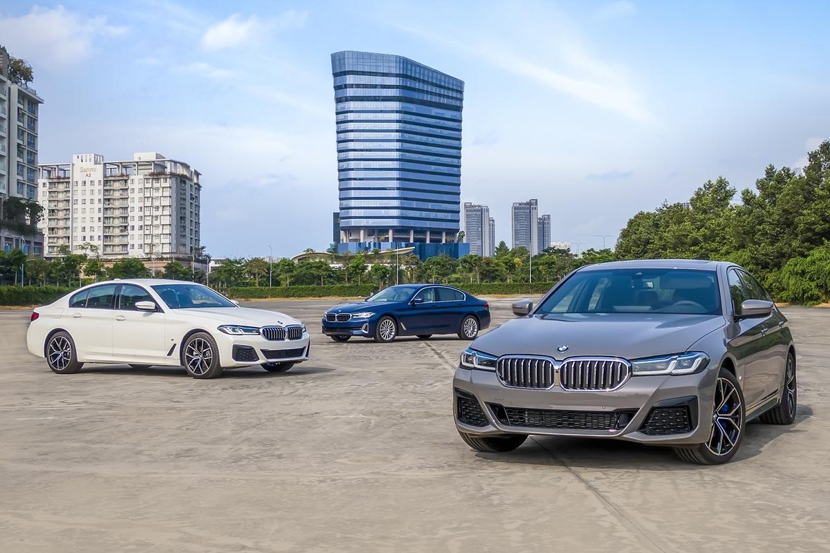 BMW 5 Series giá từ 2,5 tỷ đồng, quyết đấu Mercedes-Benz E Class