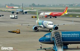 Việt Nam có bao nhiêu tàu bay thương mại đang