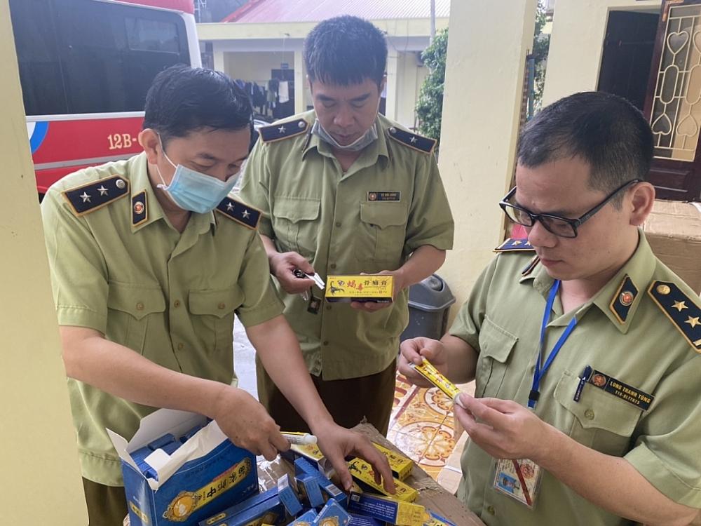 Thu 5.000 sản phẩm thuốc chữa bệnh Trung Quốc nhập lậu