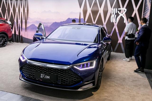 Triển lãm ô tô Thượng Hải 2021: Cuộc phô diễn của xe chạy điện Trung Quốc - 2