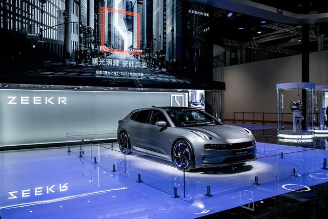 Triển lãm ô tô Thượng Hải 2021: Cuộc phô diễn của xe chạy điện Trung Quốc - 5
