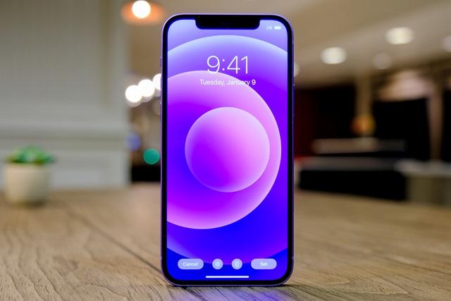 Cận cảnh chiếc iPhone 12 màu tím mà Apple vừa ra mắt - 5