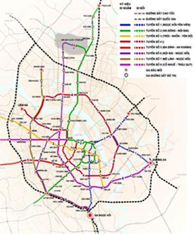 Hà Nội dừng giao Vingroup nghiên cứu tuyến đường sắt đô thị số 2