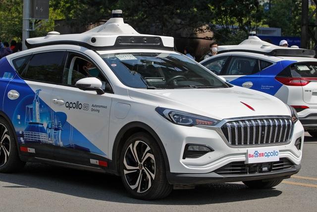 Bắc Kinh triển khai dịch vụ taxi không người lái - 2