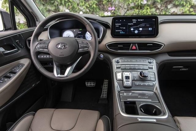 Hyundai SantaFe 2021 sắp bán tại Việt Nam, cân kèo với Kia Sorento - 3