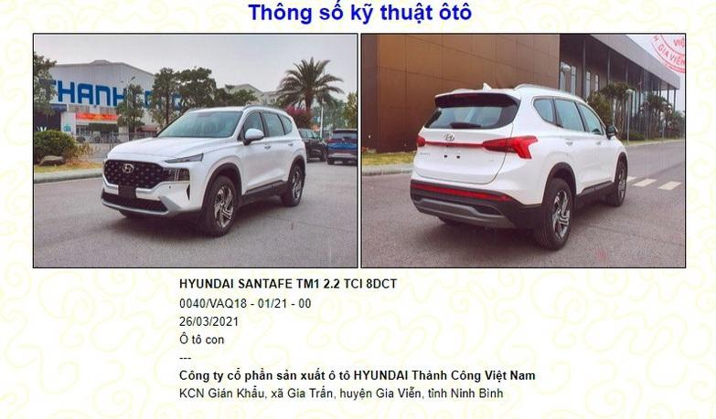 Hyundai SantaFe 2021 sắp bán tại Việt Nam,
