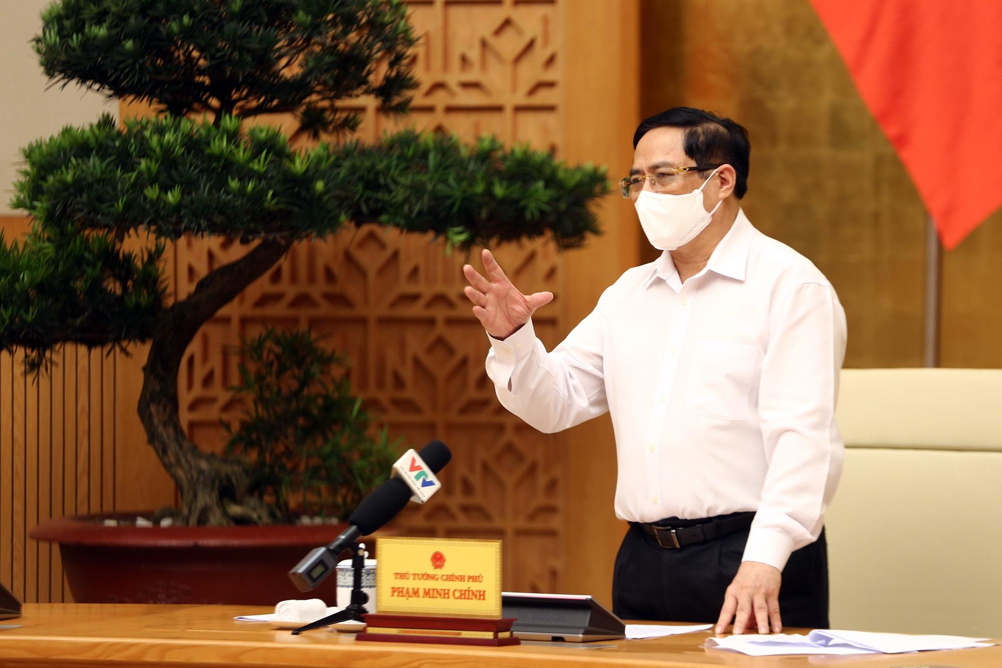 Thủ tướng nói về quyết định giãn cách xã hội toàn tỉnh của Thái Bình