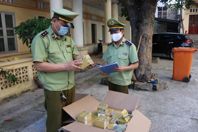 Lạng Sơn: Thu giữ, xử lý hàng nghìn điếu thuốc lá điện tử