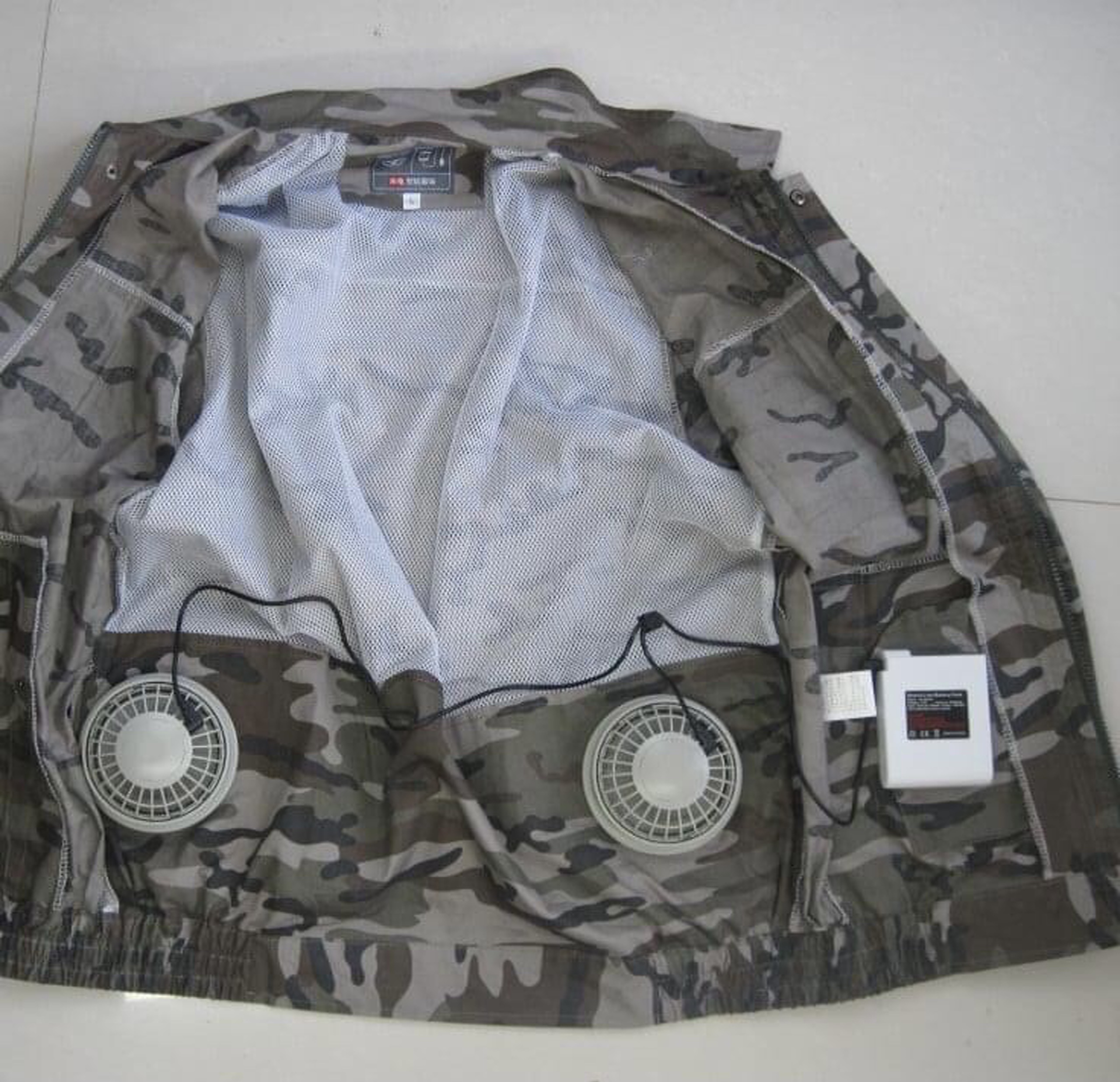 Bỏ tiền triệu mua áo gắn điều hòa