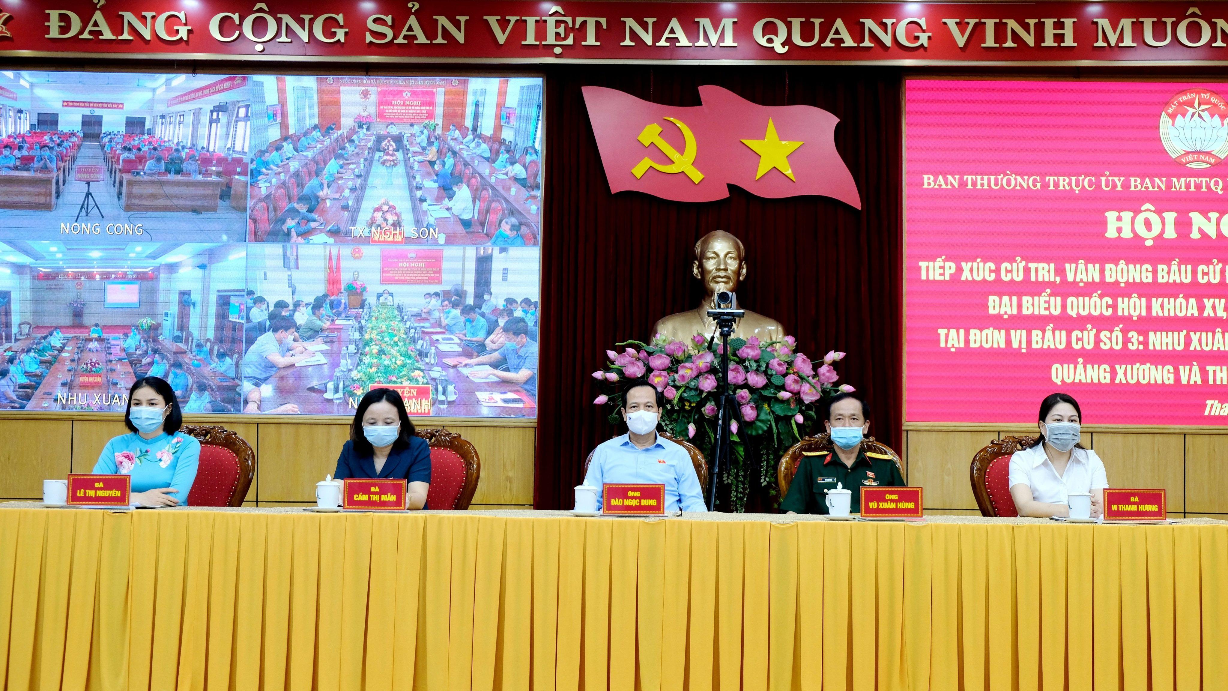 Bộ trưởng Đào Ngọc Dung: Hứa với dân rồi thì phải làm, không được hứa suông