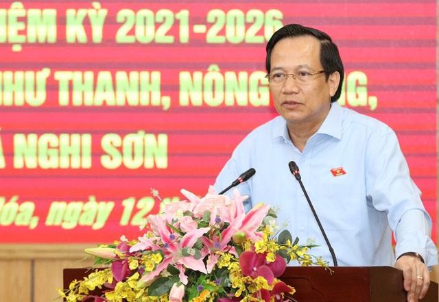 Bộ trưởng Đào Ngọc Dung: Hứa với dân rồi thì phải làm, không được hứa suông - 5